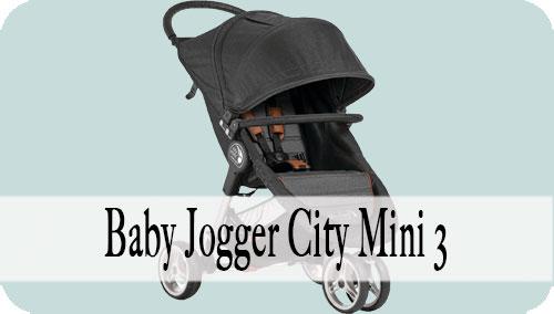 Baby Jogger City Mini 3