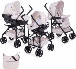 carritos de bebe 3 piezas chicco