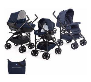 carritos de bebe chicco tres piezas